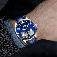 AILANG men's watches men's luxury brand wristwatches men's mechanical wristwatches Tourbillon men's mechanical watch 2019