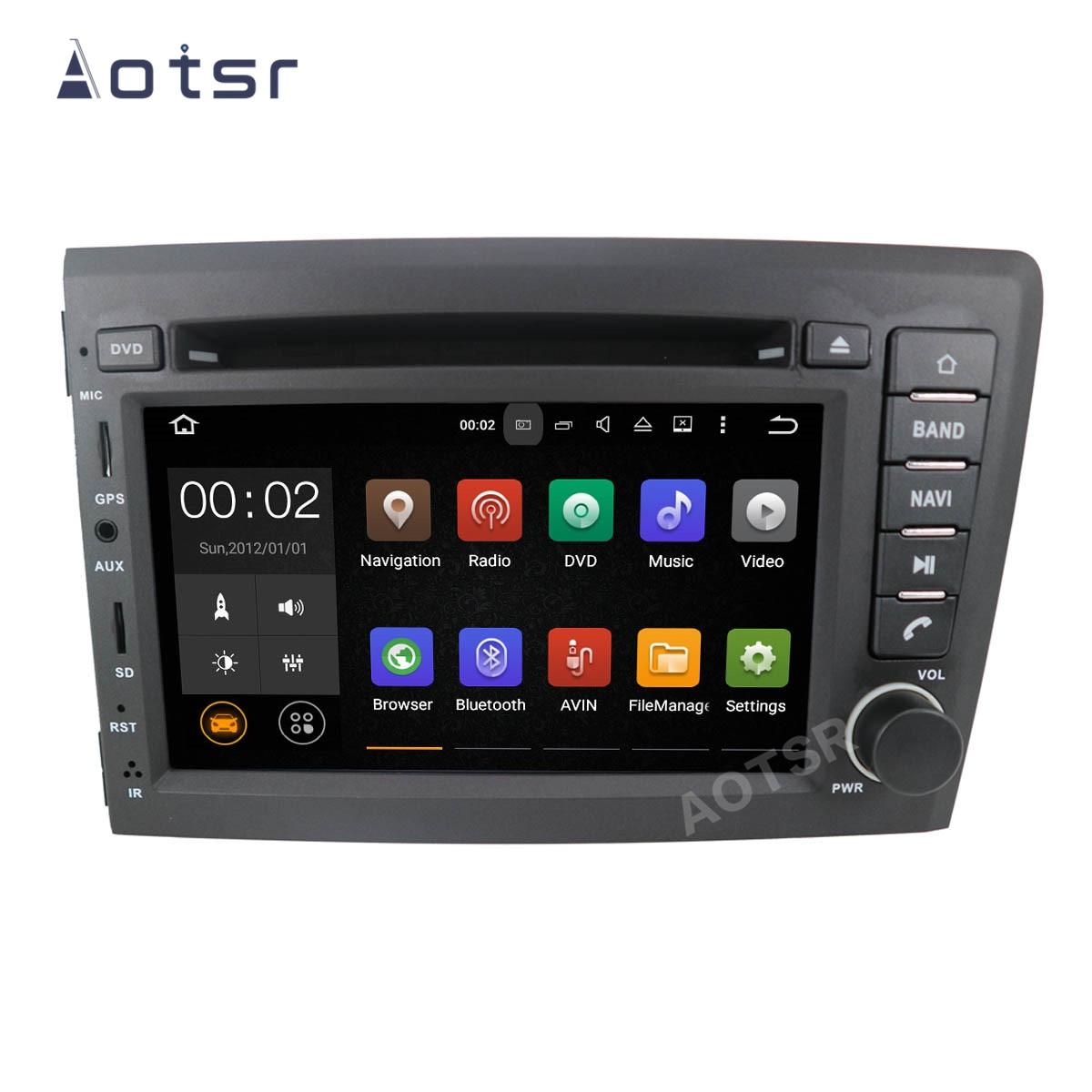 AOTSR 9 2 Coche Din Rádio Do Carro Android Para VOLVO S60 V70 XC70 2Din XC90 2000 2001 2002 2003 2004 Navegação GPS Autoradio