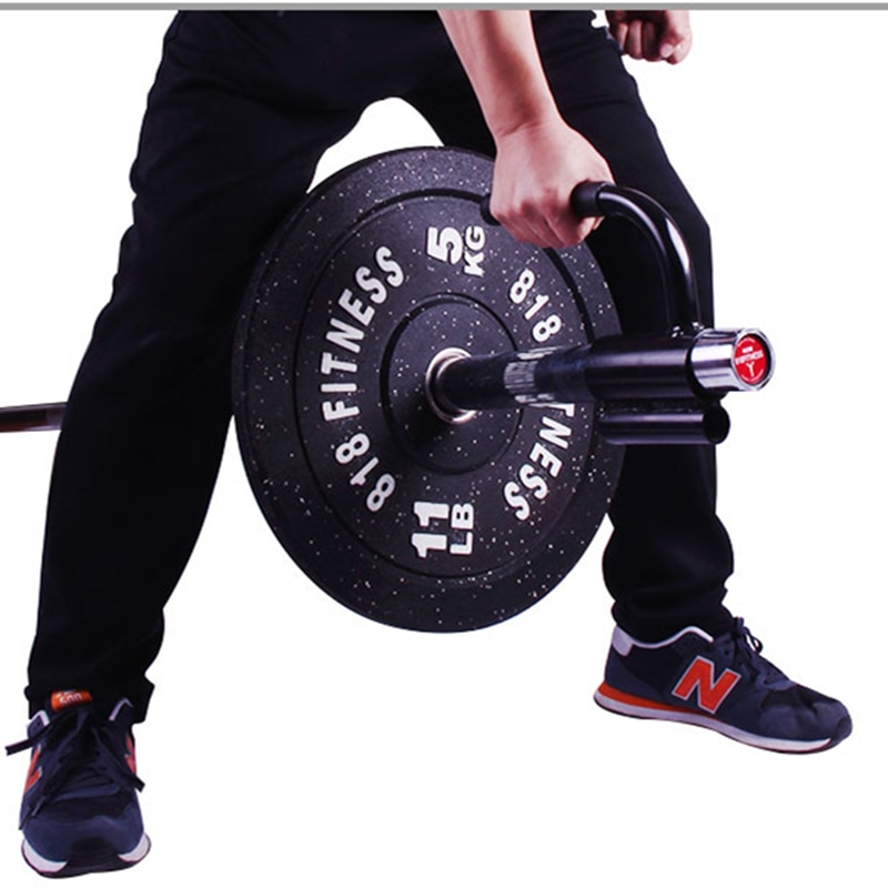 Núcleo de força treinador barbell acessório ginásio casa fitness barbell t-bar v-barra de levantamento de peso treinamento lidar com barra de remo haste f11