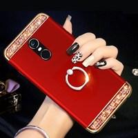 Жесткий Чехол для Телефона Bling Diamon DIY для Xiaomi mi A3 CC9 CC9E mi 9 SE 3 в 1 чехол для Red mi note 8 7 6 pro note 5 полный Чехол