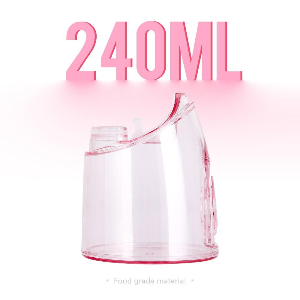 2021 De nieuwe Monddouche Draagbare Water Tanden Bleken Usb Oplaadbare Water Floss Tanden Cleaner 5 Modi IPX7 Waterdicht enlarge