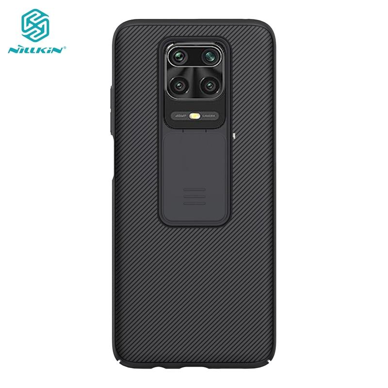 Camera Protection Case for Xiaomi Redmi Note 9 Pro Max Casing Nillkin Slide Protection Cover for Xiaomi Redmi Note 9S Case