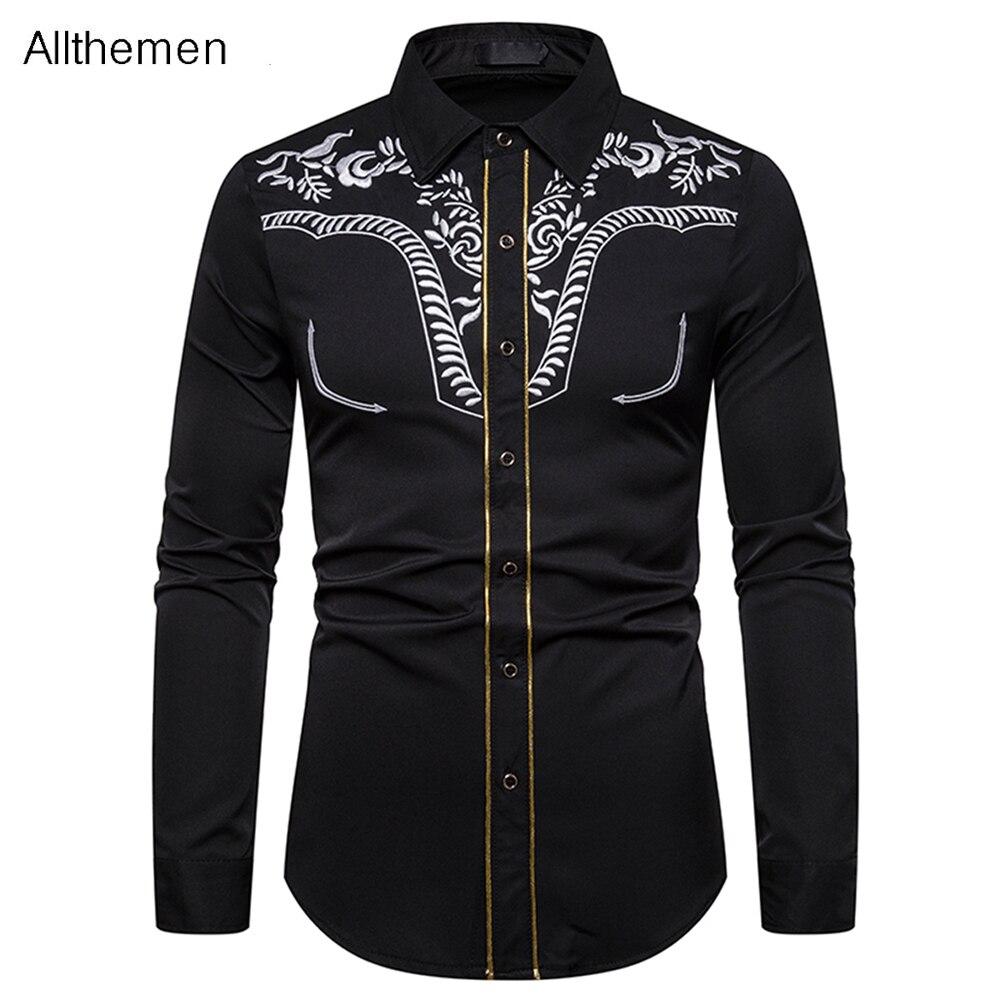 Мужская деловая рубашка Allthemen, Высококачественная Мужская Банкетная крутая одежда с принтом для мужчин, новинка весны 2021, верхняя одежда, то...
