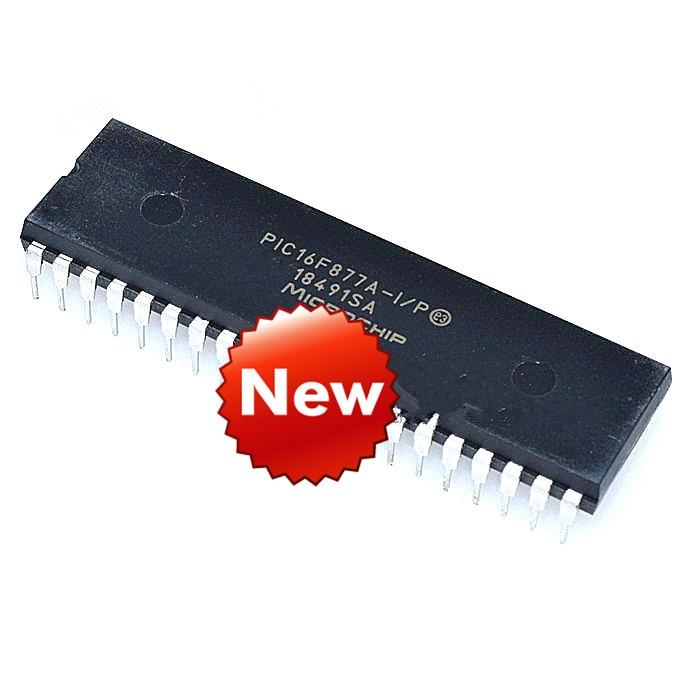 Nuevo PIC16F877A-I/P PIC16F877A PIC16F877 16F877A-I/P DIP-40