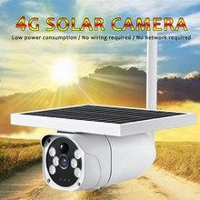 PDDHKK 4G carte SIM 2MP 1080P Photo pièges caméra de chasse avec Vision nocturne IP67 étanche caméra de sentier solaire 10400mAH batterie