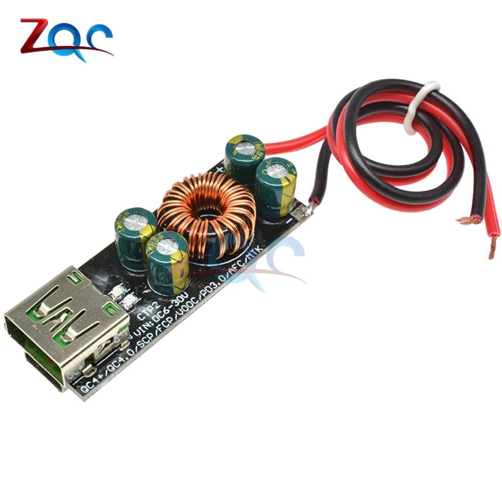 QC4.0 QC3.0 CC 6 -35V, módulo de fuente de alimentación tipo C USB de carga rápida para Huawei SCP/FCP Apple PD Qualcomm