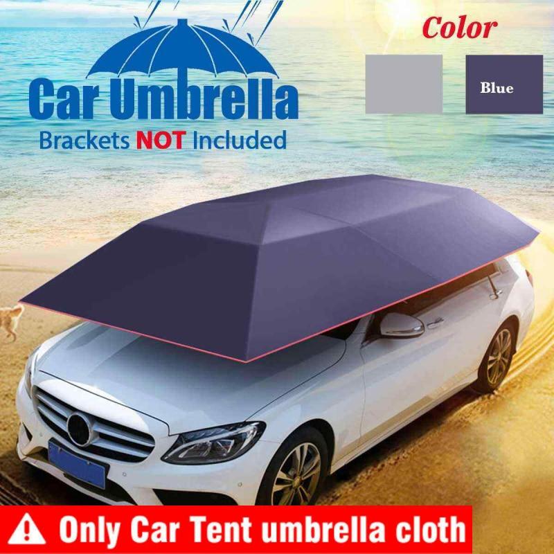 Автомобильный зонт, палатка, уличный Автомобильный солнцезащитный тент, Солнцезащитный чехол, палатка, ткань для автомобиля, уличная ткань ...