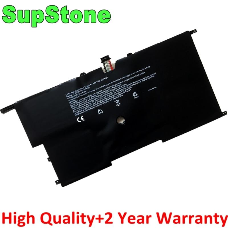 SupStone nuevo 45N1701 45N1702 45N1703 45N1700 batería del ordenador portátil para Lenovo ThinkPad X1 carbono Gen 3 X1C serie 4ICP5/58/73-2