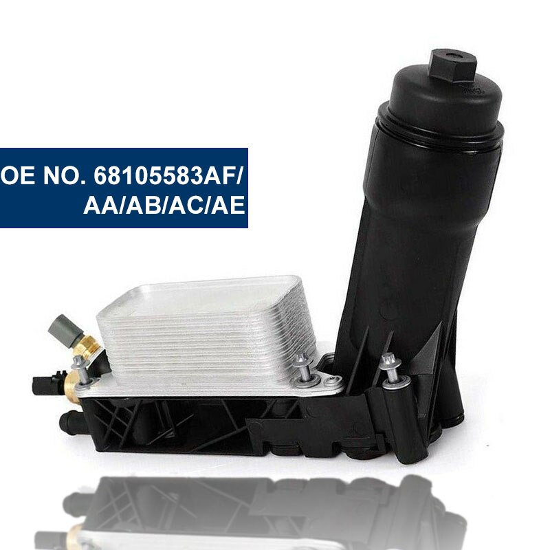 Geetha مبرد زيت محرك السيارة تصفية لكرايسلر دودج جيب رام 3.6 V6 68105583AF/التيار المتناوب // AA/AB
