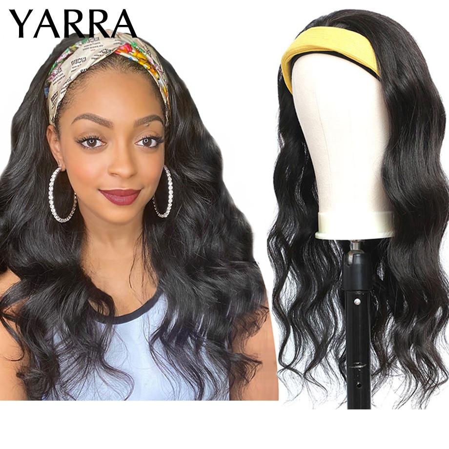 peruca de cabeca cabelo humano onda do corpo 26 28 30 polegadas comprimento longo