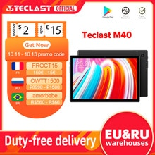 "Tablet TECLAST M40 4G, 10.1"" (1.920x1.200) IPS, Cortex UNISOC A55, 6GB RAM, 128GB ROM (ampliable con MicroSD), Android 10, WiFi Dual"