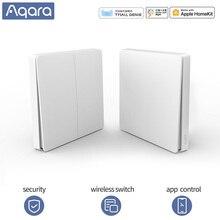 Aqara interrupteur intelligent interrupteur sans fil sonnette sans fil pour xiaomi homekit interrupteur mural sans fil Zigbee mijia app