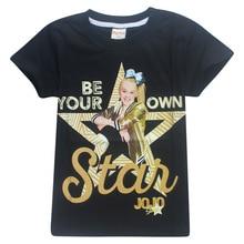 Kinder Sommer T Shirt Kinder Mädchen Kleidung Jojo Siwa Kurzarm T-shirt Kinder Cosplay Kostüm T-shirt Casual Niedliche Tops Tees