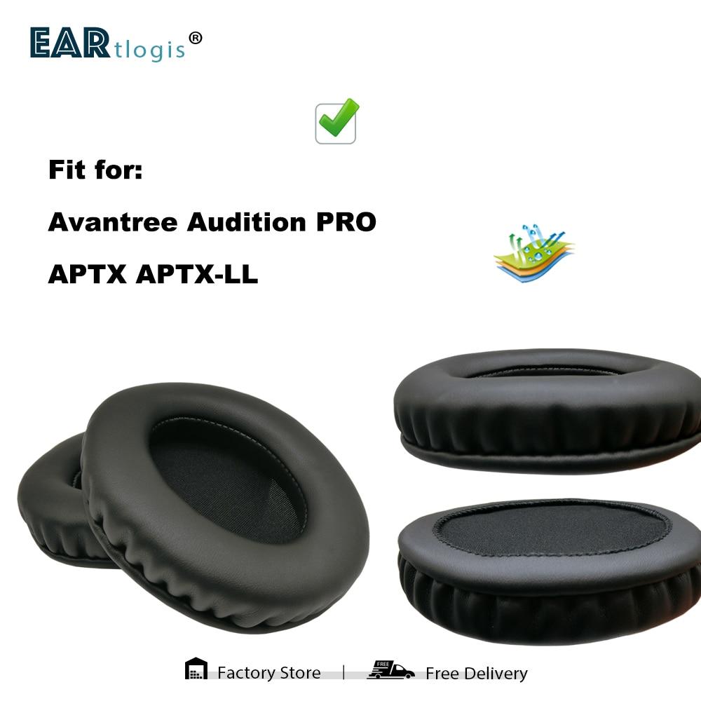 Replacement Ear Pads for Avantree Audition PRO APTX APTX-LL Headset Parts Leather Cushion Velvet Earmuff Earphone Sleeve Cover