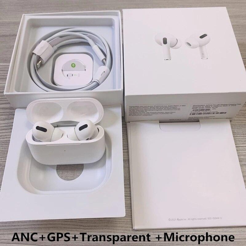 جديد تطبيق ل airpodding 2 برو 3 سماعة لاسلكية تعمل بالبلوتوث سماعة مع تحديد المواقع تغيير اسم اللاسلكية شحن الذكية الاستشعار ANC