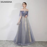 kaunissina sexy evening dresses floor length party prom dress a line sequins beading long prom dress burgundy evening gown
