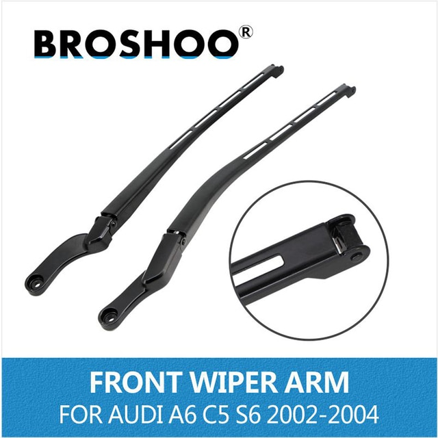 BROSHOO Car Auto parts for Audi A6 C5 S6 2005-2011 front window left / right wiper arm replacement rocker 4B1955407D/4B1955408D