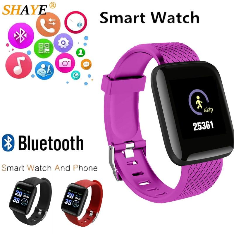 Relogio Bluetooth Smart Watch Men Women Blood Pressure Smartwatch Sport Tracker Pedometer Smart Watches Gift For New Year