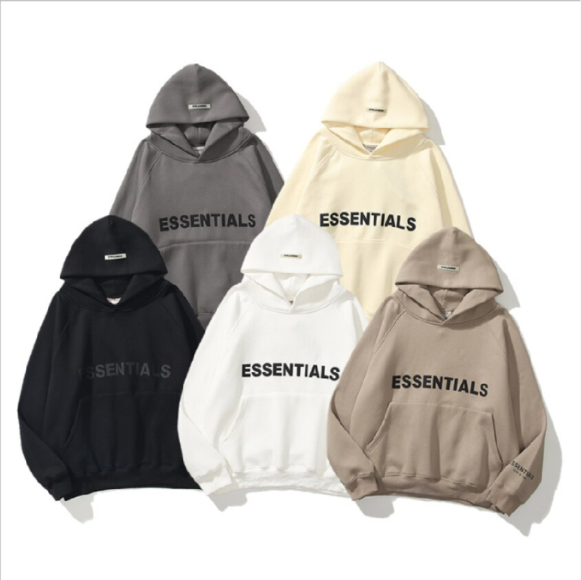 2021 new street fashion brand reflective stereo letters for men and women hoodies couples in Europe America
