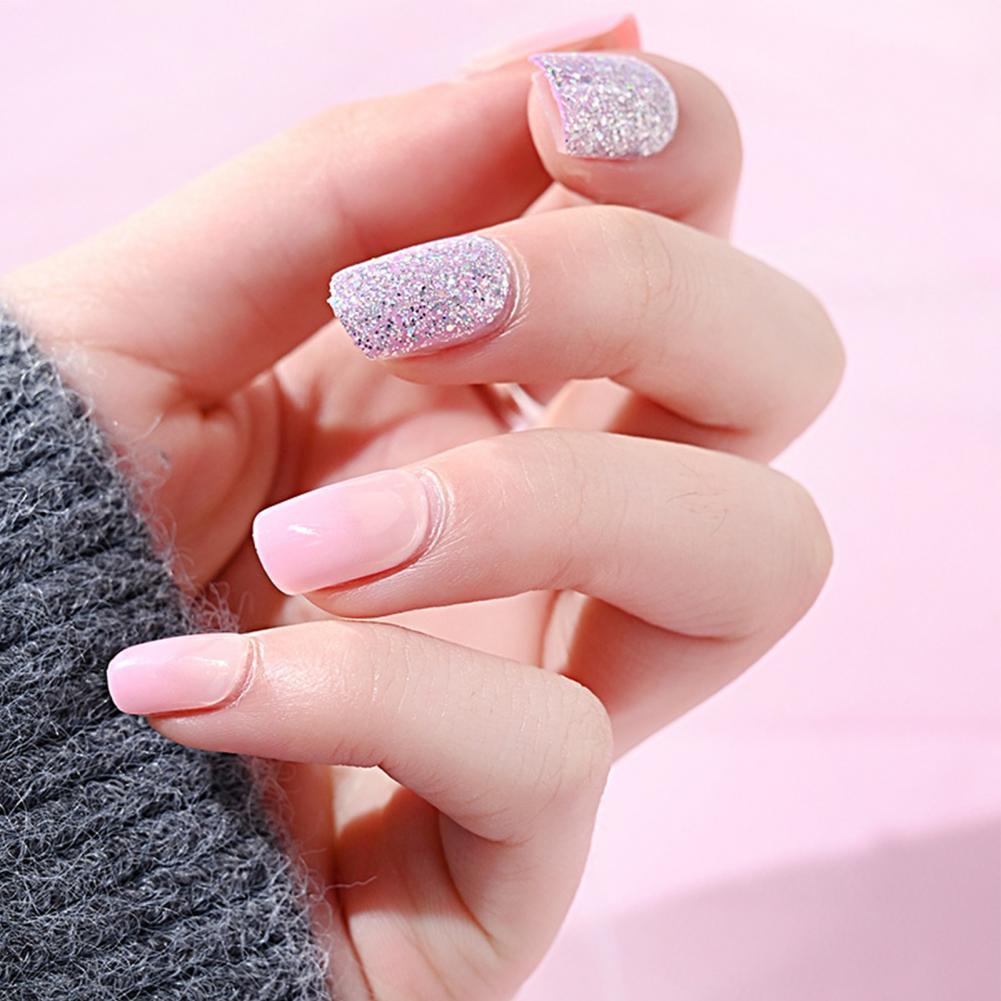 30 unids/caja uñas desmontable a prueba de agua ABS manicura de uñas...
