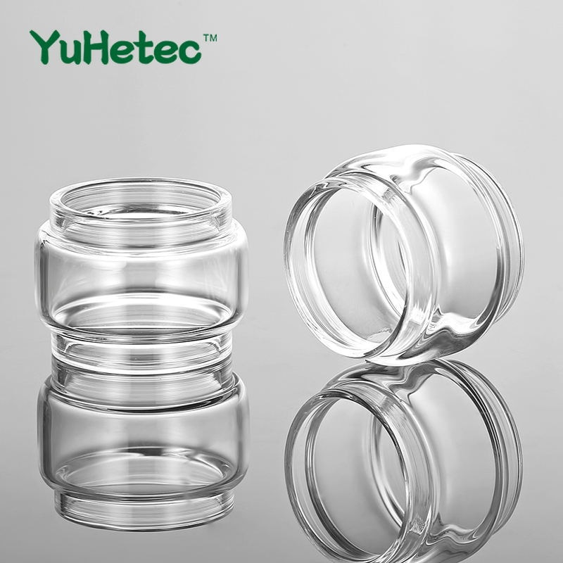 2PCS FATUBE Replacement Glass TUBE for Kylin M RTA  Adjustable 3ml /4.5ml Capacity Cigarette Atomizer Accessories недорого