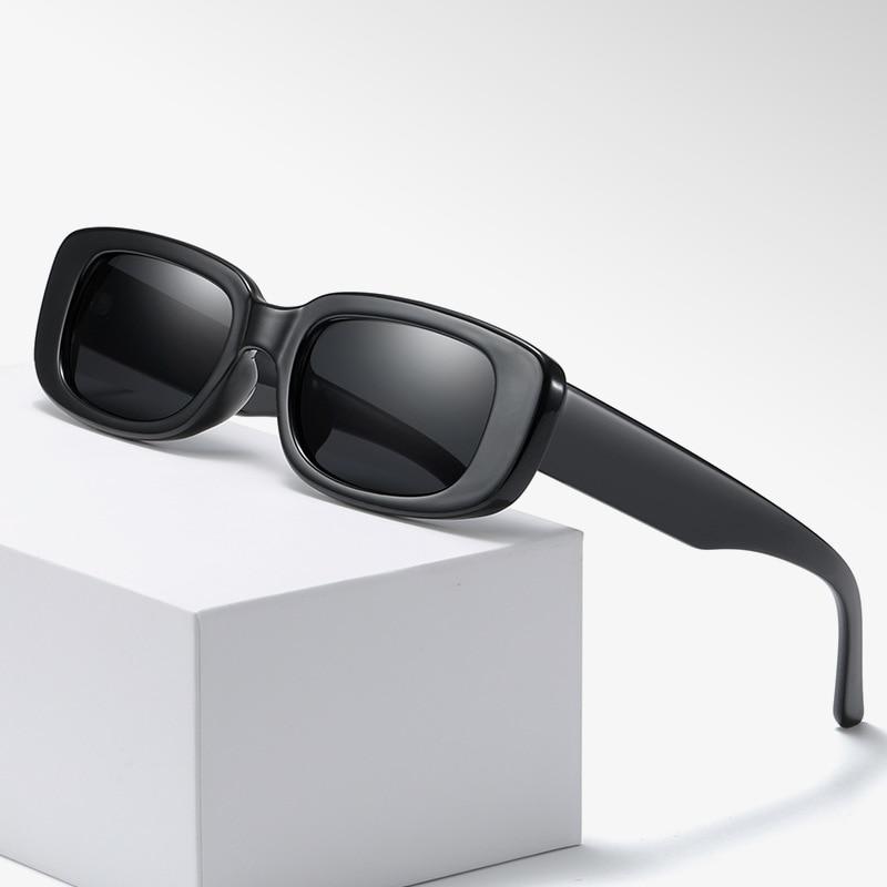Fashion Small Frame Sunglasses Jelly Color Street Shooting Anti-Ultraviolet UV400 Eyewear 2021 New Brand designer Glasses