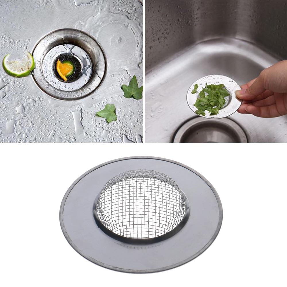 Onsinic 1 St/ück Edelstahl Badewanne Haar Catcher Stopper Duschablaufloch Filter Trap-K/üche Metall Sink Sieb