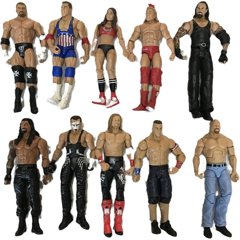 Hohe qualität wrestler action-figur spielzeug wwe zeichen beruf wrestling gladiatoren für Kinder geschenke