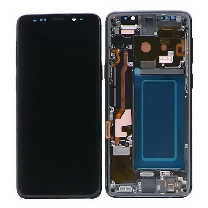 Original AMOLED S9 LCD Display For SAMSUNG Galaxy S9 G960 Display Touch Screen For S9+ S9 Plus G965 G965F LCD Screen+Dead pixels enlarge