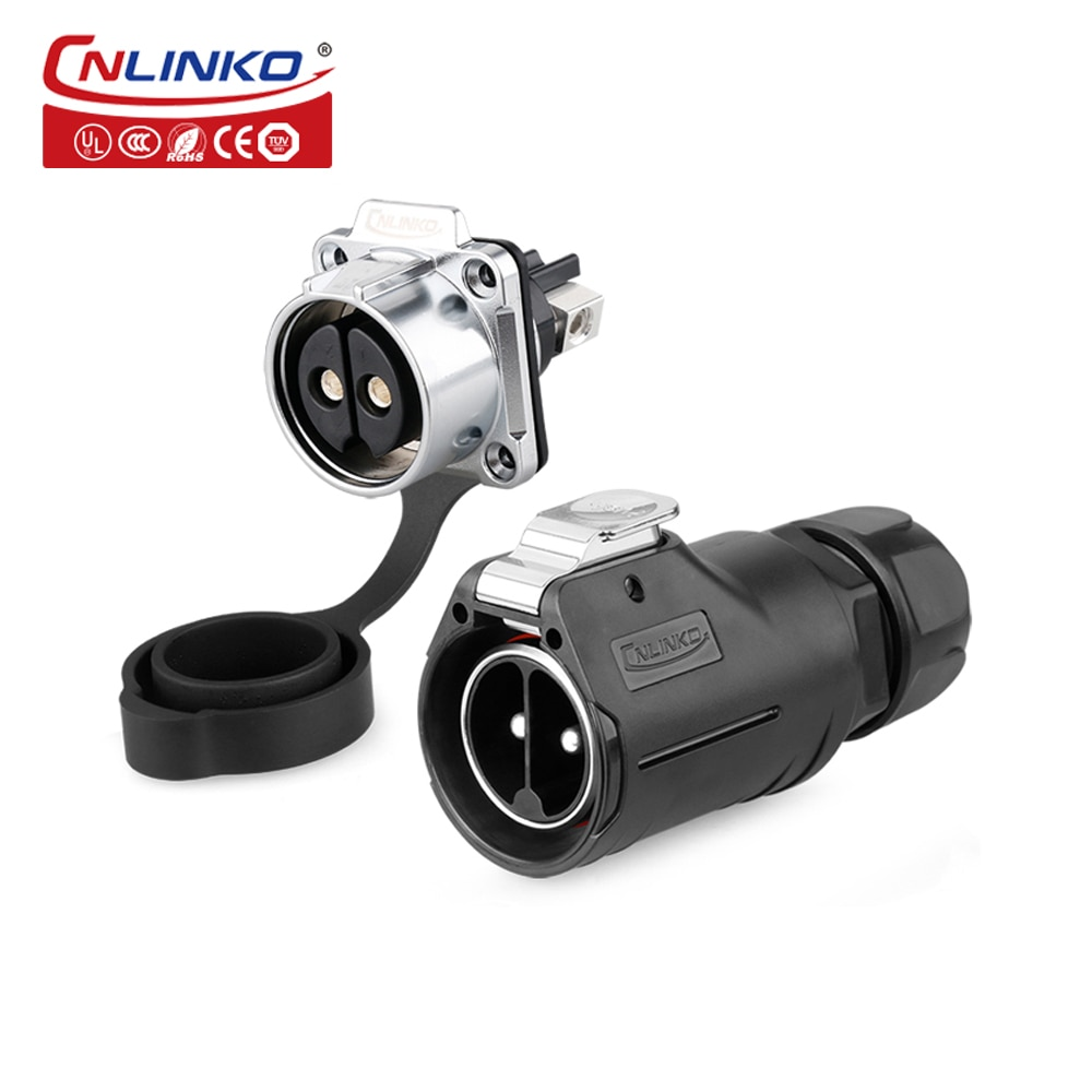 Cnlinko M28 الصناعية موصل مقاوم للمياه 2 3 8 دبوس المكونات الذكور والإناث لوحة المقبس في الهواء الطلق الكهربائية سريعة محول الطاقة