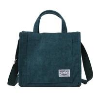 2020 autumn woman bag for ladies corduroys bag female handbag crossbody bags massage bag shoulder bag high capacity package