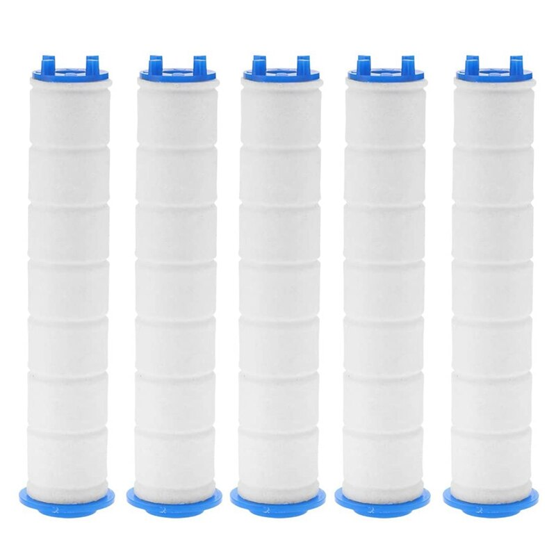 5 peça chuveiro de mão filtro núcleo do banheiro banheira chuveiro filtro núcleo purificador água