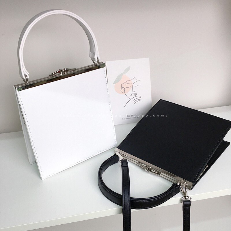 Fashion Clip Women Handbags Designer Simply Lady Shoulder Bags Luxury Pu Leather Crossbody Bag Small Flap Female Purses 2020