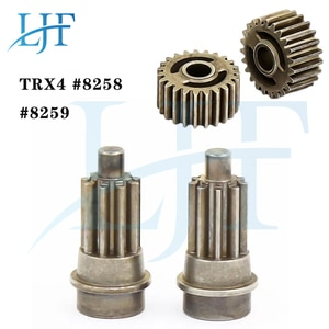 Metal Front/Rear Portal Drive Input Gear 8259 Spindle Gear Output Spindle Gear Set 8258 for 1/10 RC Crawler Traxxas TRX-4 L193
