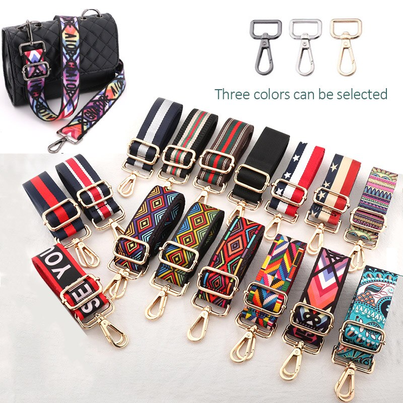 Handbag Straps for Crossbody Adjustable Bag Accessories Belt For Bag Accessories  Handbag Belt Wide Nylon Shoulder bag Straps
