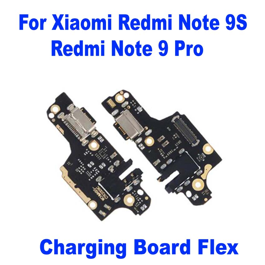 USB charging Plug Board Flex Cable For Xiaomi Redmi Note 9S Note9 Pro Mobile Phone Charger Circuits Connector Parts