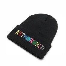 2020 nouveaux hommes femmes tricoté chapeau ASTROWORLD lettre Beanie broderie Ski chaud hiver chaud unisexe Travis Skullies bonnets