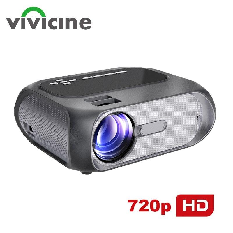 Vivicine-Proyector portátil T7 para cine en casa, dispositivo de proyección de películas,...