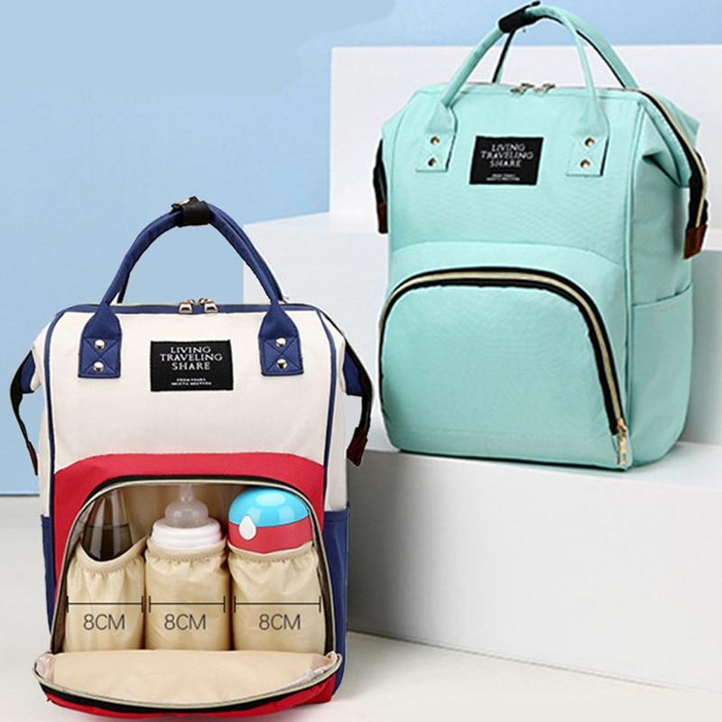 Large Capacity Diaper Bag Backpack Waterproof Maternity Bag Baby Diaper Bags Mummy Baby Car Bag