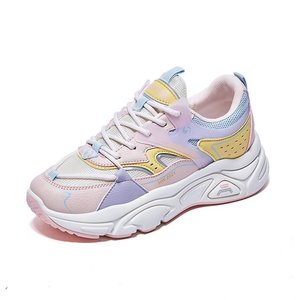 Autumn 2021 New Lace-up High-quality Casual Shoes Fashion Breathable Comfortable Platform Women's Sneakers
