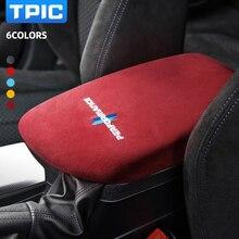 Алькантара TPIC для BMW F20, F21, F23, F44, отделка панели подлокотника автомобиля, наклейка M Performance, наклейки, аксессуары из углеродного волокна