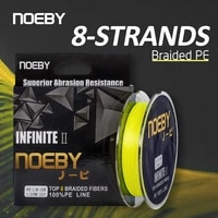 noeby pe line x8 strand braided fishing line 150m 300m 1 103lb super tension wear resistance smooth multifilament fishing line