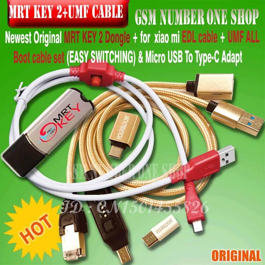 MRT KEY 2-llave electrónica MRT KEY 2 + para xiaomi hongmi 9008,...