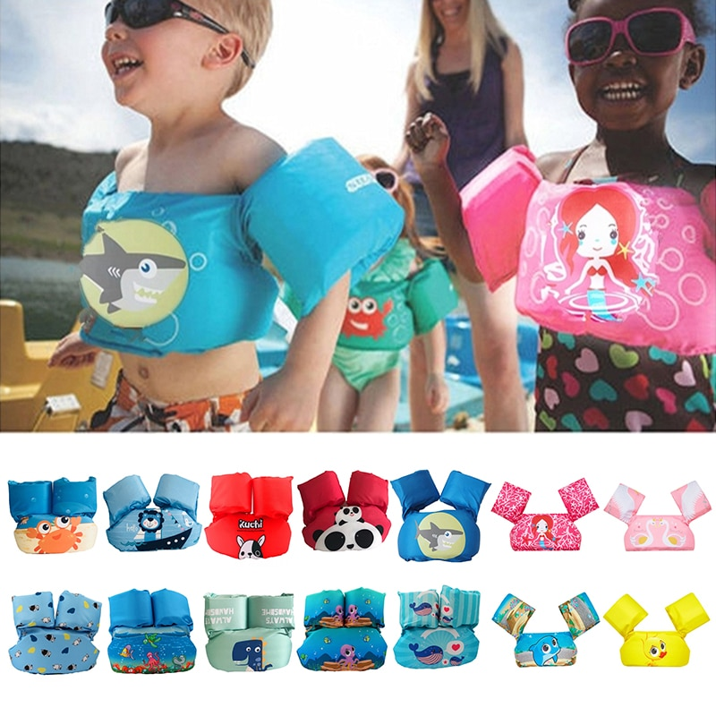 Baby Swim Rings Puddle Jumper Baby Life Vest Child Life Jacket 2-6 Years Old Boy Girl Children Vest