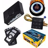 Cardot Best Auto PKE Engine Push Start Stop Remote Starter Passive Keyless Entry Car Alarm System