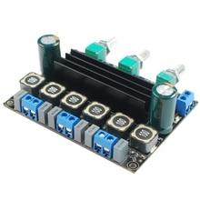 MOOL TPA3116 HIFI haute puissance classe D numérique 2.1 carte amplificateur stéréo entrée stéréo et Super basse sortie 50Wx2 + 100Wx1