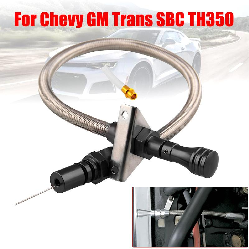 Varilla de medición de transmisión de acero inoxidable Flexible y duradero para motor de coche, herramientas de medición de nivel de aceite para Chevrolet GM Trans SBC TH350