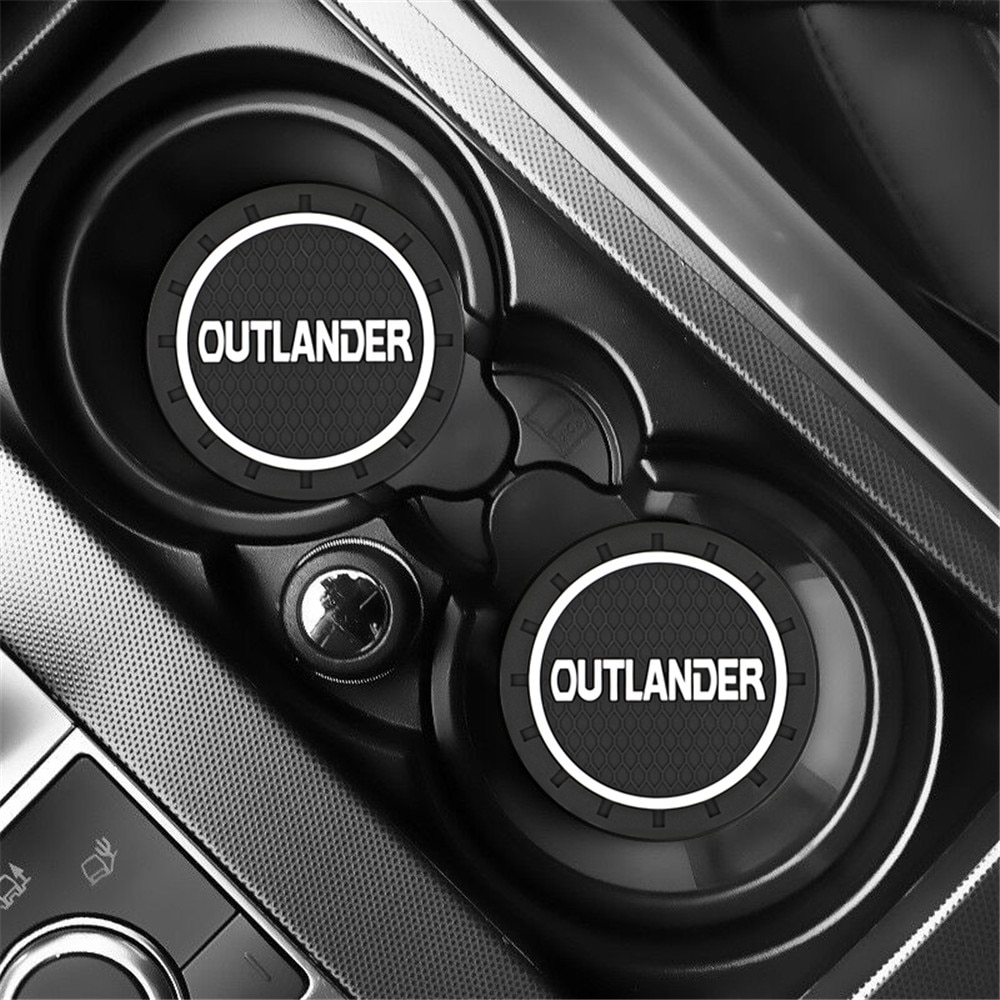2 шт., автомобильные Нескользящие Коврики для Mitsubishi Outlander 2013 2014 2015 2016 2017 2018 2019