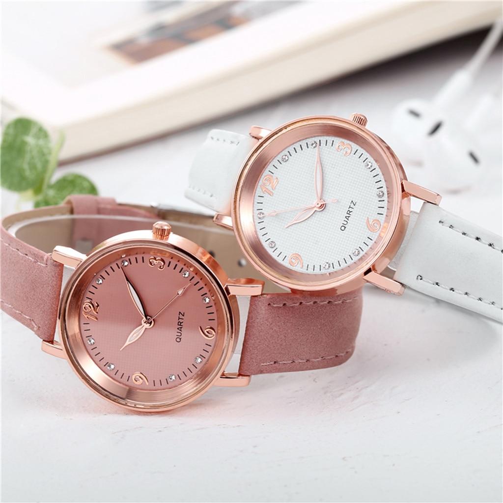 Ladies Wrist Watch Women Watches Quartz Watch Stainless Steel Dial Casual Bracele Watch Female Clock