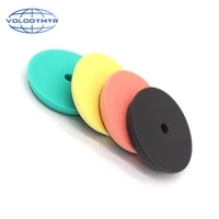 car polish pad 7 inch polishing pads with 6 inches hook and loop waxing sponge for detail polisher buffing machine buffer